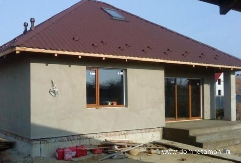Одноэтажного кирпичного дома своими руками
